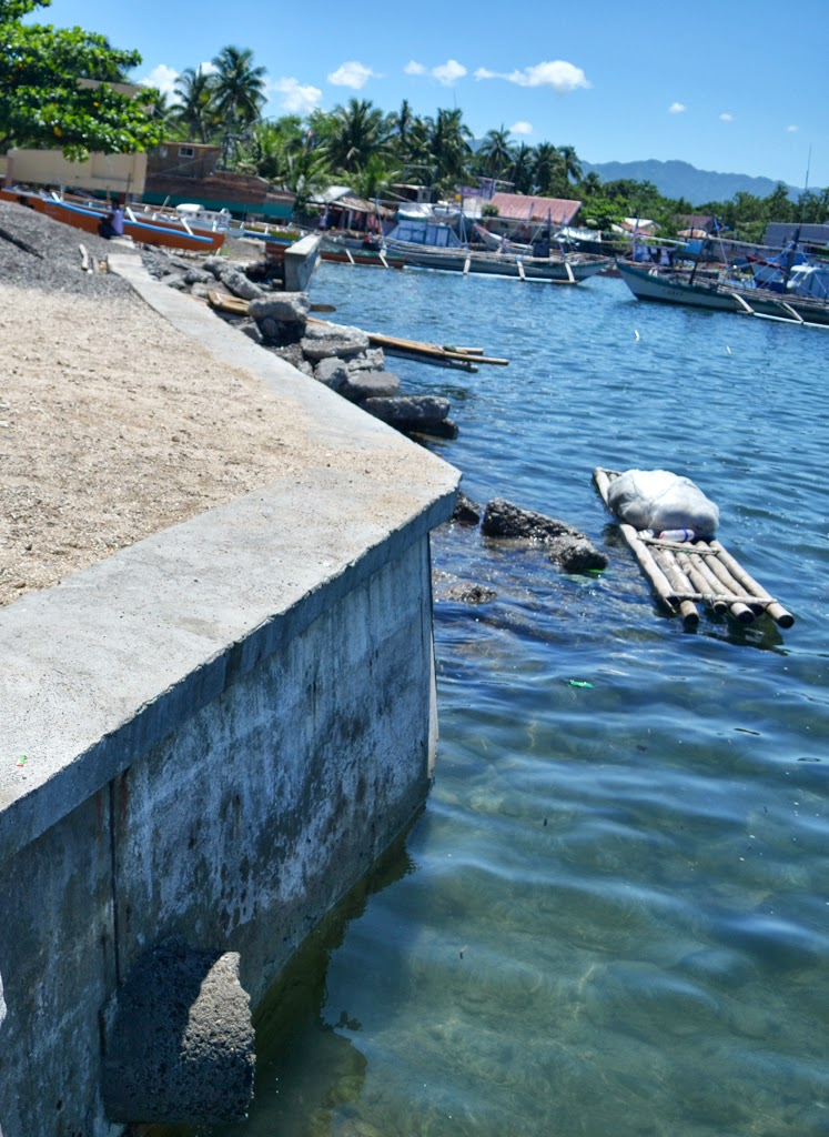 Photo: Barangay Salomague Sea Wall