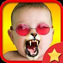 Face Fun - Photo Collage Gold icon
