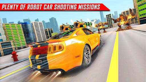 Lion Robot Car Transforming Games: Robot Shooting 1.4 screenshots 12