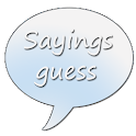 Sayings Guess icon