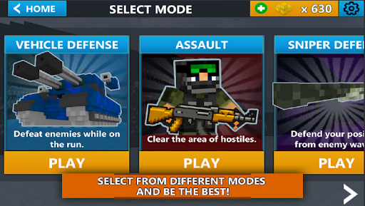 Cube Wars Battle Survival  screenshots 2