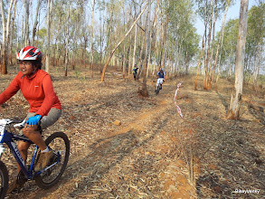 Photo: This lady from Mysore was riding AdityaTVM's Trek and came in 2nd!