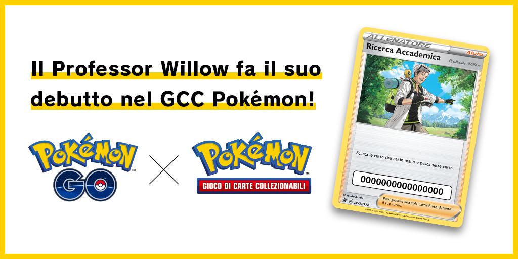 Il Professor Willow fa il suo debutto nel GCC Pokémon!