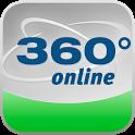 360° online – Die App icon
