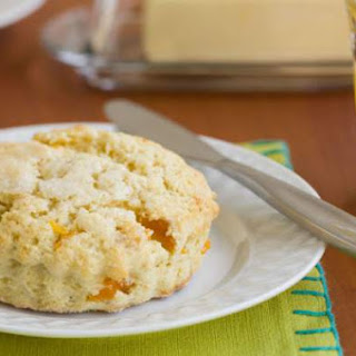 Cream Cheese Apricot Scones