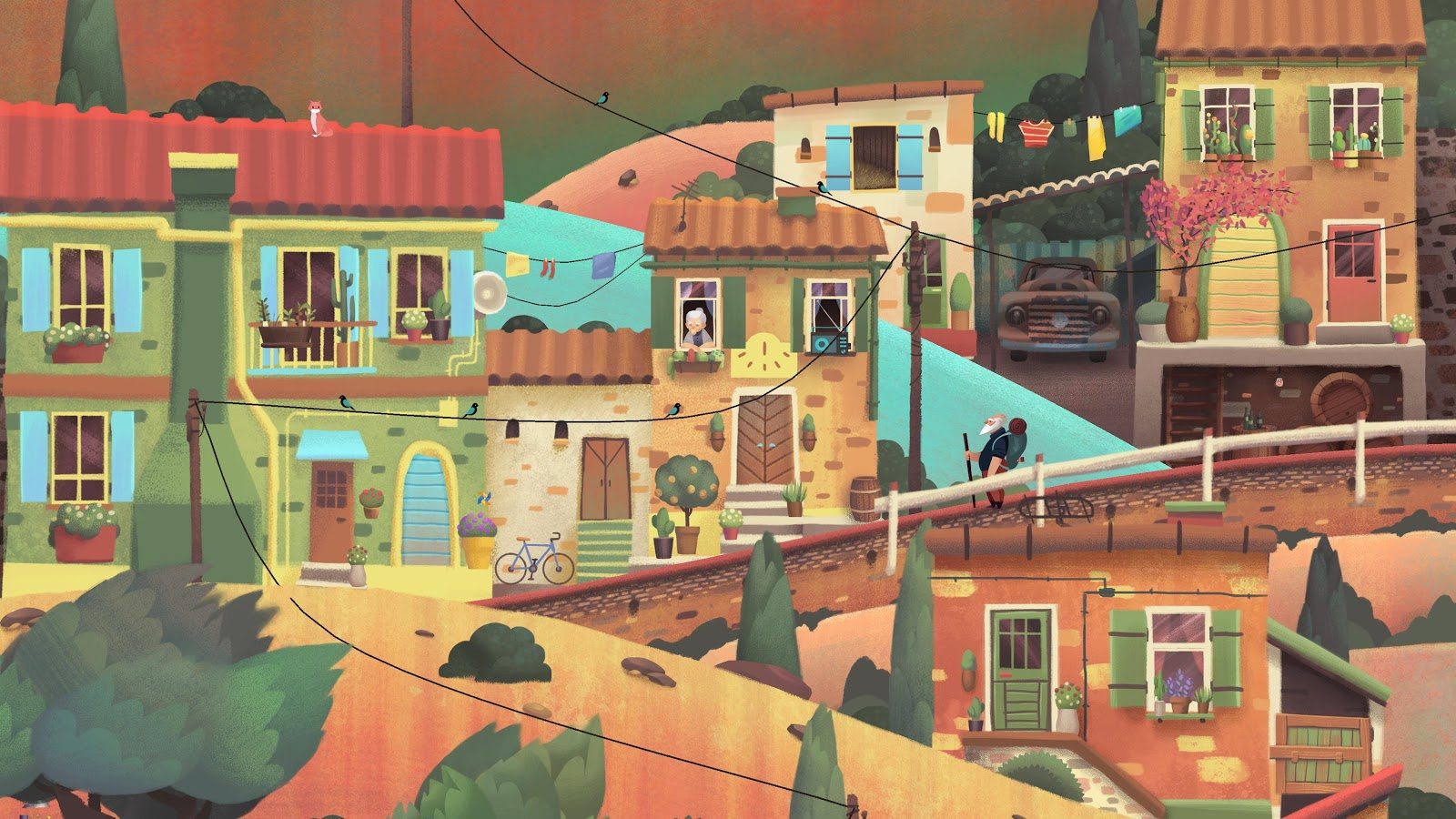 Old Man's Journey – Screenshot