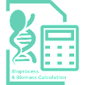 Bioprocess Biomass Calculation icon