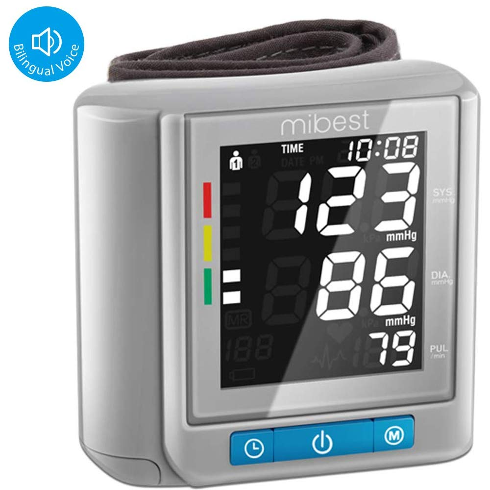 image of MIBEST blood pressure monitor