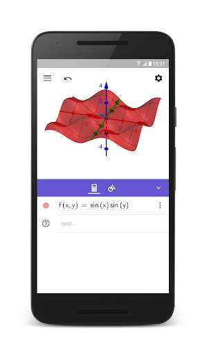 GeoGebra 3D Graphing Calculator 5.0.523.0 screenshots 1