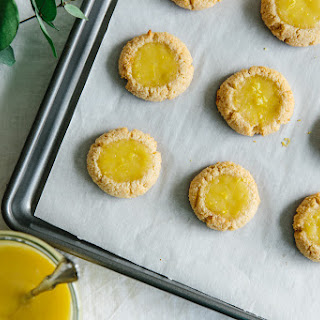 Lemon Curd Thumbprint Cookies (Gluten-Free, Paleo) Recipe