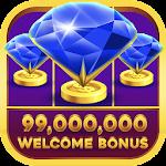 Slots - Blue Diamond Casino Jackpot Party Icon