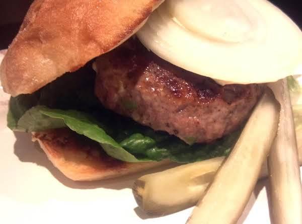 Blue Cheese Turkey Burgers Recipe