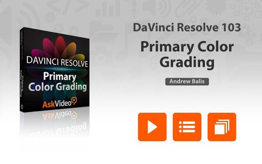 Primary Color Grading Course