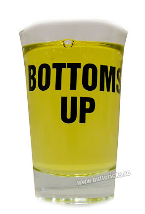 "Snapsglas ""Bottom up"""