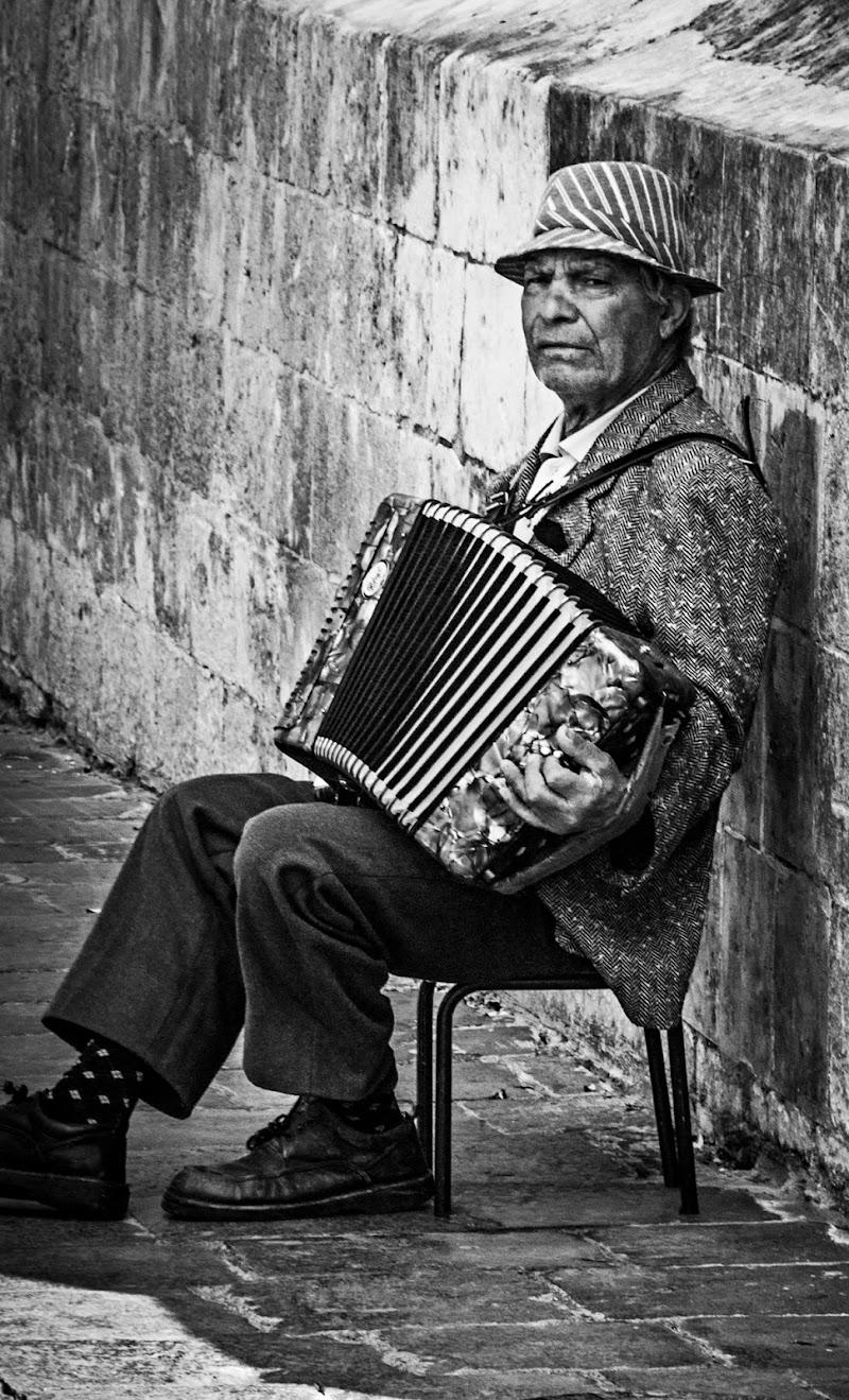 Street musician di monikapo