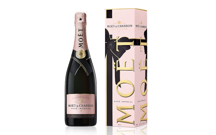 Moët & Chandon Rosé Imperial.