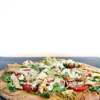 Homemade Pesto Chicken Pizza