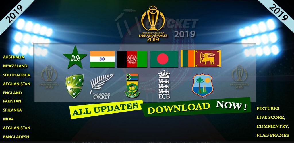 Download Cricket World Cup 2019 Schedules & Photo Frames APK