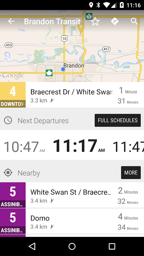 Brandon Transit Bus - MonTransit- screenshot