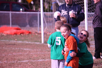 Photo: World Cup, Nov. 7--having fun.