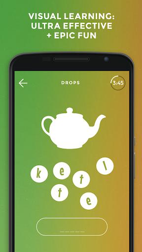 Drops: Learn European Portuguese language for free 34.76 screenshots 1