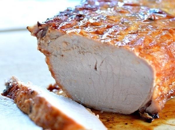 Grilled Bbq Pork Roast Recipe