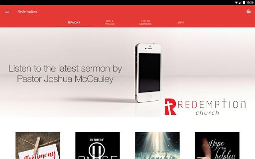Redemption Church South Africa screenshot 4