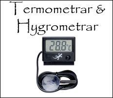 Termo- & Hygrometrar