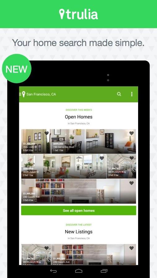 Trulia Real Estate & Rentals- screenshot