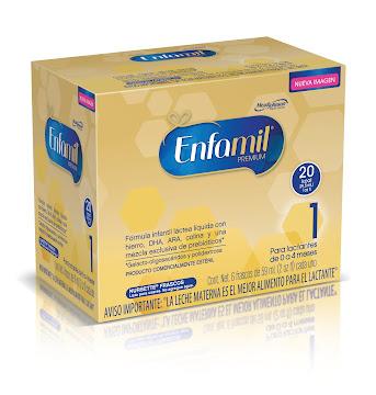 Formula Infantil Liquida   Enfamil Etapa 1 Premium x 6 Frascos de 59ml