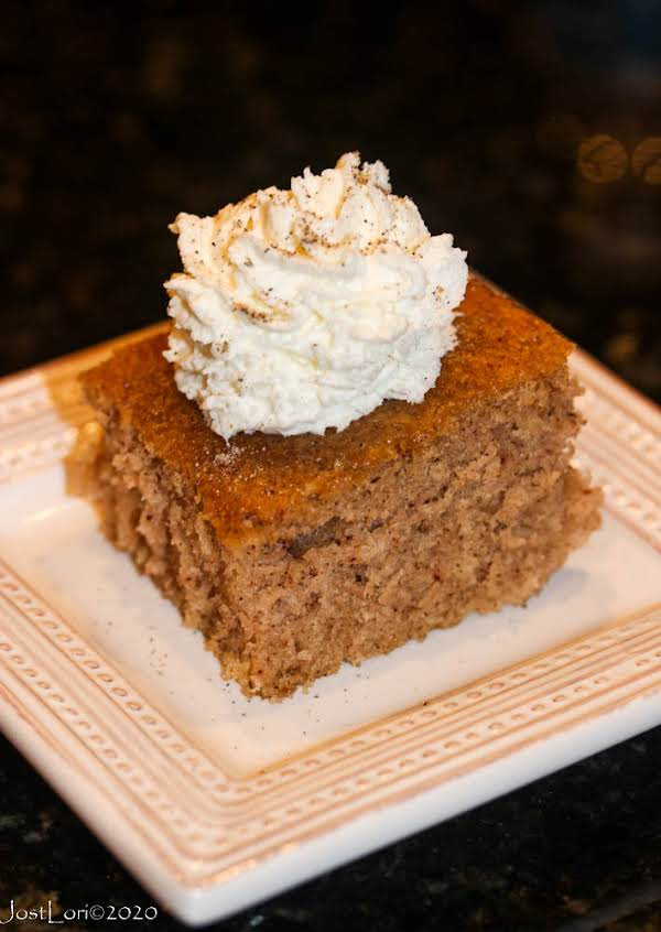 Easy Cardamom Spice Cake