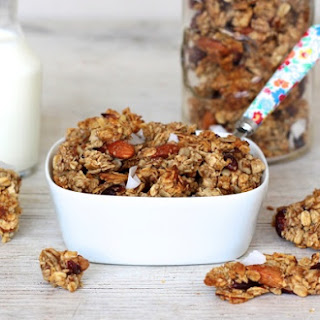 Chunky Homemade Granola Recipe