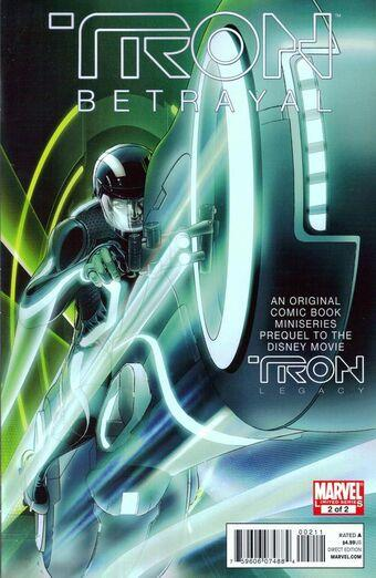 Tron: The Betrayal Vol 1 2 | Marvel Database | Fandom