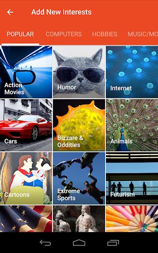 Screenshot 11 for StumbleUpon's Android app'