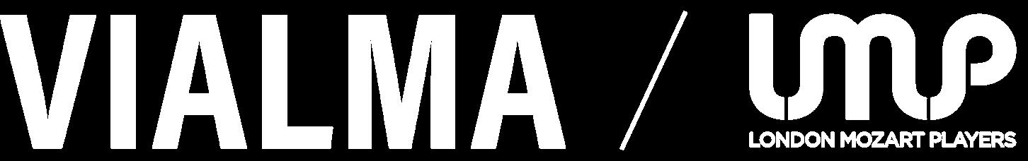 LMP + Vialma logo white