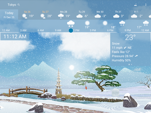 YoWindow Weather poster