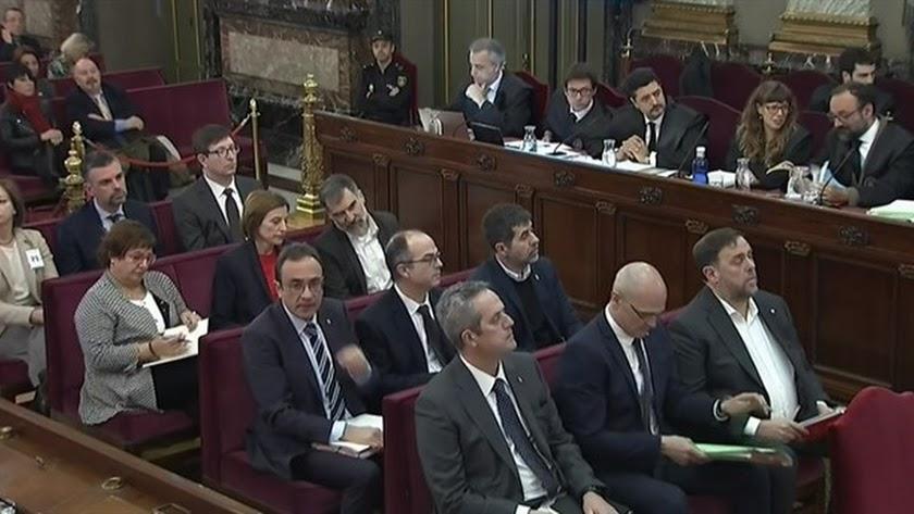 Arranca el juicio del procés catalán.
