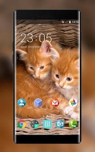 Theme for Videocon V1477 Cats Wallpaper - náhled
