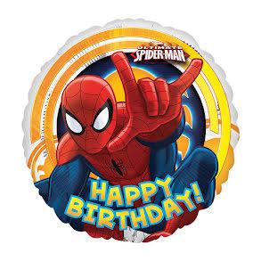 Folieballong, Spiderman