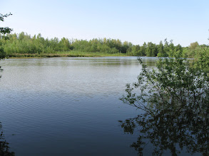 Photo: A fishing lake near our cottage. I never tried it out.
