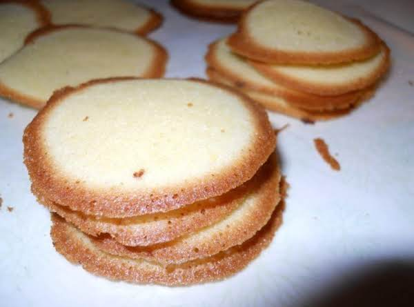 Lemon Thin Cookies (almost As Good As The One's Nabisco Use To Make) Recipe