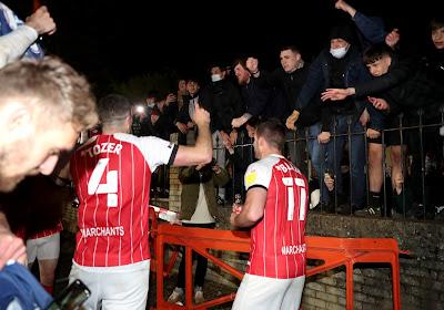 🎥 Un club anglais fête sa promotion devant ses supporters