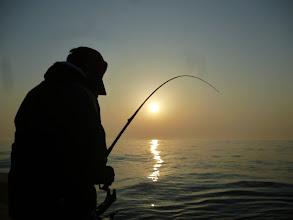 Photo: 戸田さんも大苦戦。 とにかく釣れない!