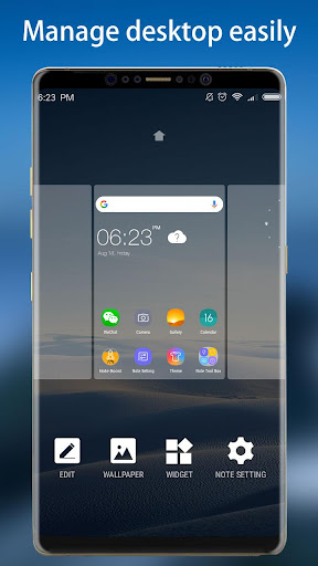 Note 8 Launcher - Galaxy Note 8 launcher, theme for PC