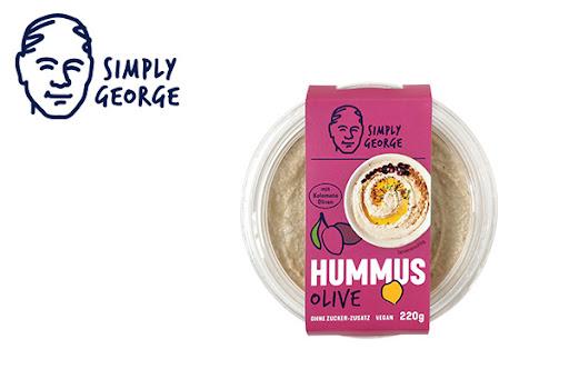 Bild für Cashback-Angebot: Simply George Hummus Olive