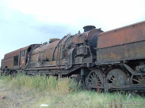 Photo: Sadly, this loco will never see steam again.