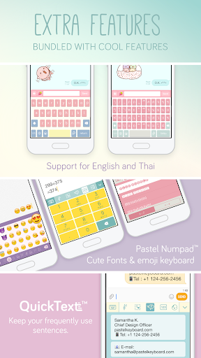 Pastel Keyboard Theme Color -  Add colorful design 이미지[4]