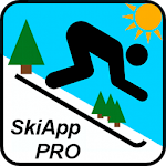 SkiApp PRO - THE Ski Computer Icon
