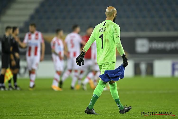 """Bolat krijgt volle laag na mistasten in eerste minuut, Wim De Decker reageert: """"Niet zijn eerste foutje, maar ..."""""""