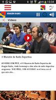 Screenshot of Aragón Radio